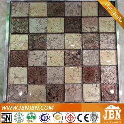 Lámina Gloden Ducha mosaico de vidrio de la pared (G848014)
