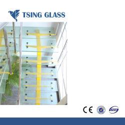 La alta calidad antideslizante vidrio laminado templado pasos escalera