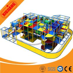 Playgrounds di legno Indoor Playground System con Slide