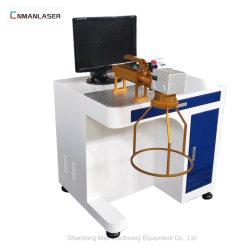 Optisches Tischplattenaluminiumgoldsilber-Faser-Laser-Markierungs-Gerät