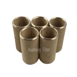 Reductor de ruido de metal porosas sinterizadas Filtro de polvo de bronce
