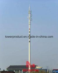 Telecom телескопической мачты полюс
