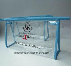 지우십시오 주문을 받아서 만들어진 PVC 장식용 포장 부대 (jhf-009)를