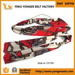 형식 최신 판매 새로운 도착 빨간 아름다운 여자 스카프 주문 톱니 바퀴용 체인