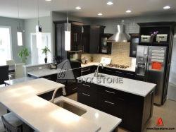 Countertop、Wall及びFloor Tilesのための白いArtificial Quartz Stone