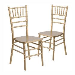 중국식 하드우드 볼룸 치아바리 티파니 의자