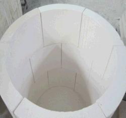 Tampa do tubo de silicato de cálcio de isolamento 600c, 650c