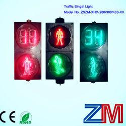 Feu de circulation piétonne prix d'usine avec LED clignotant compteur compte à rebours