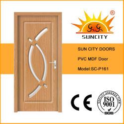 Индия внутреннего рынка ламината MDF двери из ПВХ