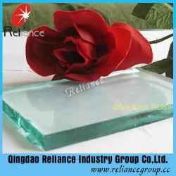 O vidro float incolor/vidro transparente/Vidro Construção/Auto Grau de vidro temperado/vidro/vidro da janela/vidro de porta com espessura 1-19mm