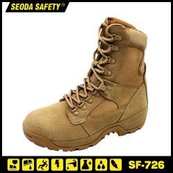 Amarelo americano Couro patrulha do exército combater as botas de segurança