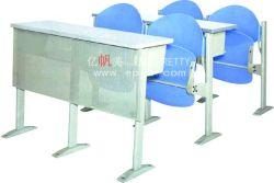 2018 популярных современных пластиковых колледж письменный стол и стул/колледж для классных комнат в классе/Колледж школьной мебели