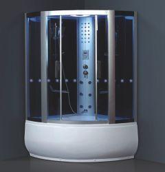ジャクージの浴槽(906)が付いているコンピュータ化された蒸気部屋
