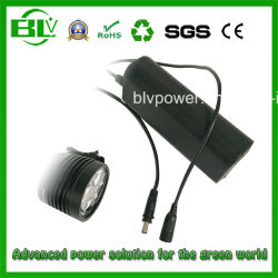На заводе OEM 12V/11,1 V Lithiumled размера 18650 3s1p 2600Мач 12 Вольт круглый аккумулятор для Miner лампы передних фар