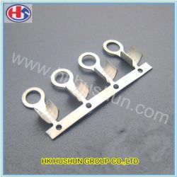 Tipo de anillo de estampación metálica Pulse el cable eléctrico Terminal (HS-DZ-0093)