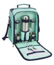 2 Sac de pique-nique Personne café définie pour le camping du refroidisseur d'Isolés