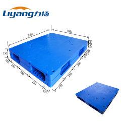 L'équipement d'entrepôt 1200*1000*140mm PEHD neuf pieds pour le stockage de palettes en plastique