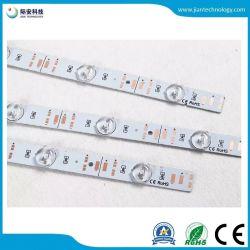 SMD 2835 3030 5050 de la reflexión difusa Lattice TIRA DE LEDS de iluminación de fondo rígido TIRA DE LEDS