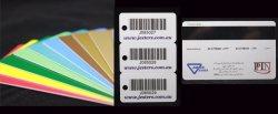 Meilleur rapport qualité prix de gros de l'adhésion de la carte de code à barres d'affaires en PVC