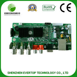 Placa de circuito impresso PCB multicamada com SMT & Conjunto DIP