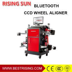 Технология Bluetooth Полуавтоматический инструмент для центровки 4 колес на оборудование