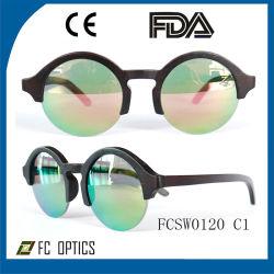 Vetri di legno fatti a mano su ordinazione di /Bamboo degli occhiali da sole con l'obiettivo polarizzato