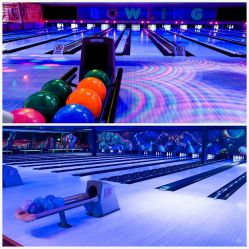 Bowling Full Glow-in-Dark per il moderno Bowling Center