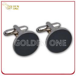 Hot la vente de meilleure qualité de l'émail métal dur Cufflink