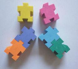 Горячая продажа головоломки Eraser с пользовательский цвет