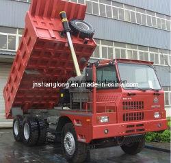 شاحنة التعدين Sinotruk 371HP سعة 60 طنًا