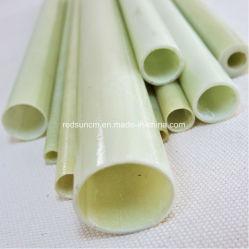 Зеленый стекловолоконной ткани короткого замыкания эпоксидной трубы для электрических