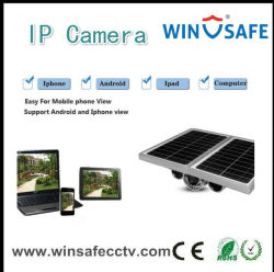 Wasserdichtes H. 264 Solar Power Camera mit LED Light