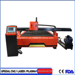 Große 2000*6000mm CNC-Metallblatt-Rohr-Plasma-Ausschnitt-Bohrmaschine