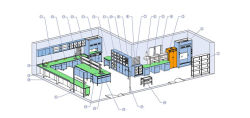 تصميم المختبر دعم مشاريع تنقية الهواء