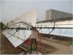 Le rayonnement solaire concentré à l'application parabolique d'alimentation sécheur fruits solaire