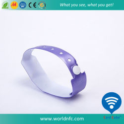 ISO14443A Ntag213 de Beschikbare Manchet van pvc RFID