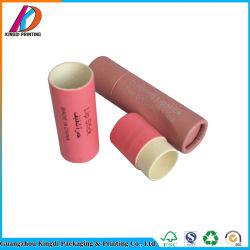 Tubo di carta biodegradabile su ordinazione del rossetto del tubo del balsamo di orlo