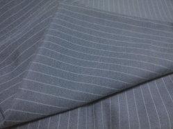Stock de prêt de remise des prix bon marché vêtement Textile Oxford Bloues Stripe Shirt tissu uniforme