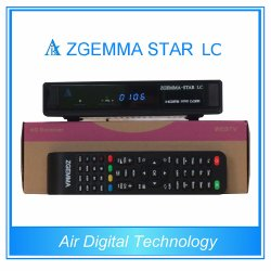 Tuner 1080P dvb-c Één van Qpsk Linux OS Enigma2 van de Ontvanger van de Ster LC van Zgemma van de Technologie van de lucht de Digitale Satelliet Volledige Promotie op Zgemam Ster H1