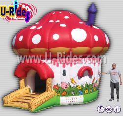 Грибы надувной замок с прыгающими мячами Bouncer прыжком дом для детей