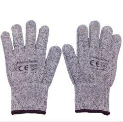 13G Hppe la salubrité des aliments résistant aux coupures des gants de sécurité avec FR388 de la protection de niveau 5