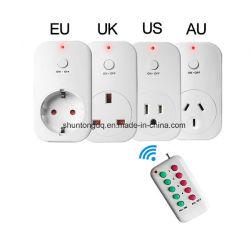 Smart Wireless Prise télécommande RF433 Plug nous l'UE de sortie UK Au Prise murale maison intelligente prise de courant électrique