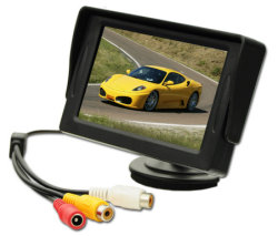 Shenzhen-Fabrik kleiner LCD-Auto-Monitor 4.3 Zoll mit Kamerad-/NTSC Format