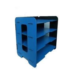 Bandeja modificada para requisitos particulares diseño especial del servicio de la espuma de los PP del azul de cielo