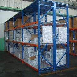 Промышленные складские стеллажи течение долгого хранения со средней мощности