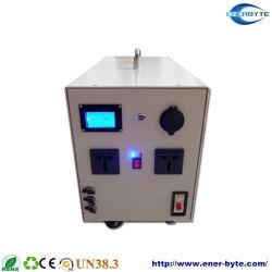 1000W Fuente de alimentación UPS 24V50Ah batería de litio Bank