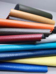 Het kleurrijke Zachte Duurzame Kunstmatige Synthetische Leer van Pu voor stoel-Steen