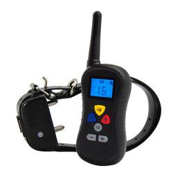 جهاز تدريب الكلاب الإلكتروني التحكم عن بعد شحن التدريب على الحيوانات الأليفة مقاومة للماء إمداد حلقة صدمة جهاز الشخير اللاسلكي