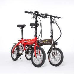 الصين [36ف] [250و] يطوي درّاجة كهربائيّة 14 بوصة درّاجة كهربائيّة لأنّ بالغ