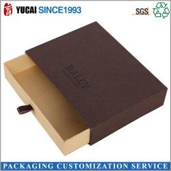2021 Новый Стиль лоток бумагу в салоне коричневый Подарочная упаковка
